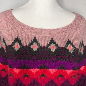 American Eagle Cozy Patterned Sweater